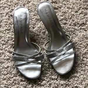 Rampage Frankie heels - size 7